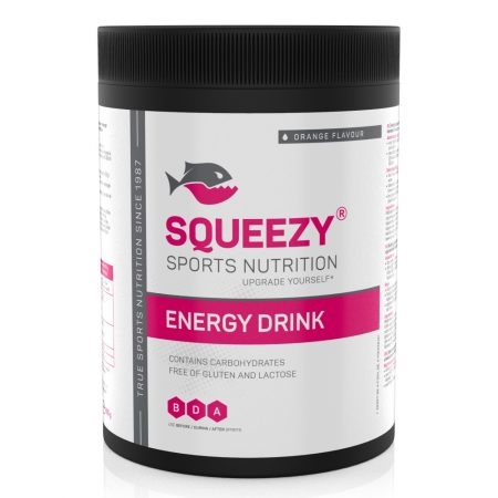 squeezy energy drink 650 g narancs