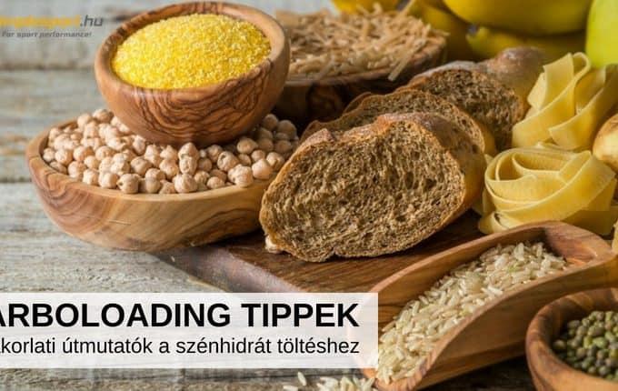 carbo loading tippek