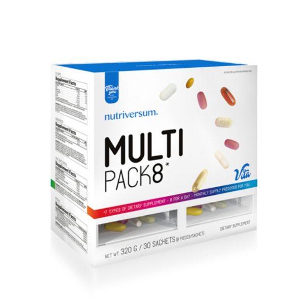 nutriversum multi pack 8 multivitamin pack multivitamin komplex sportolóknak