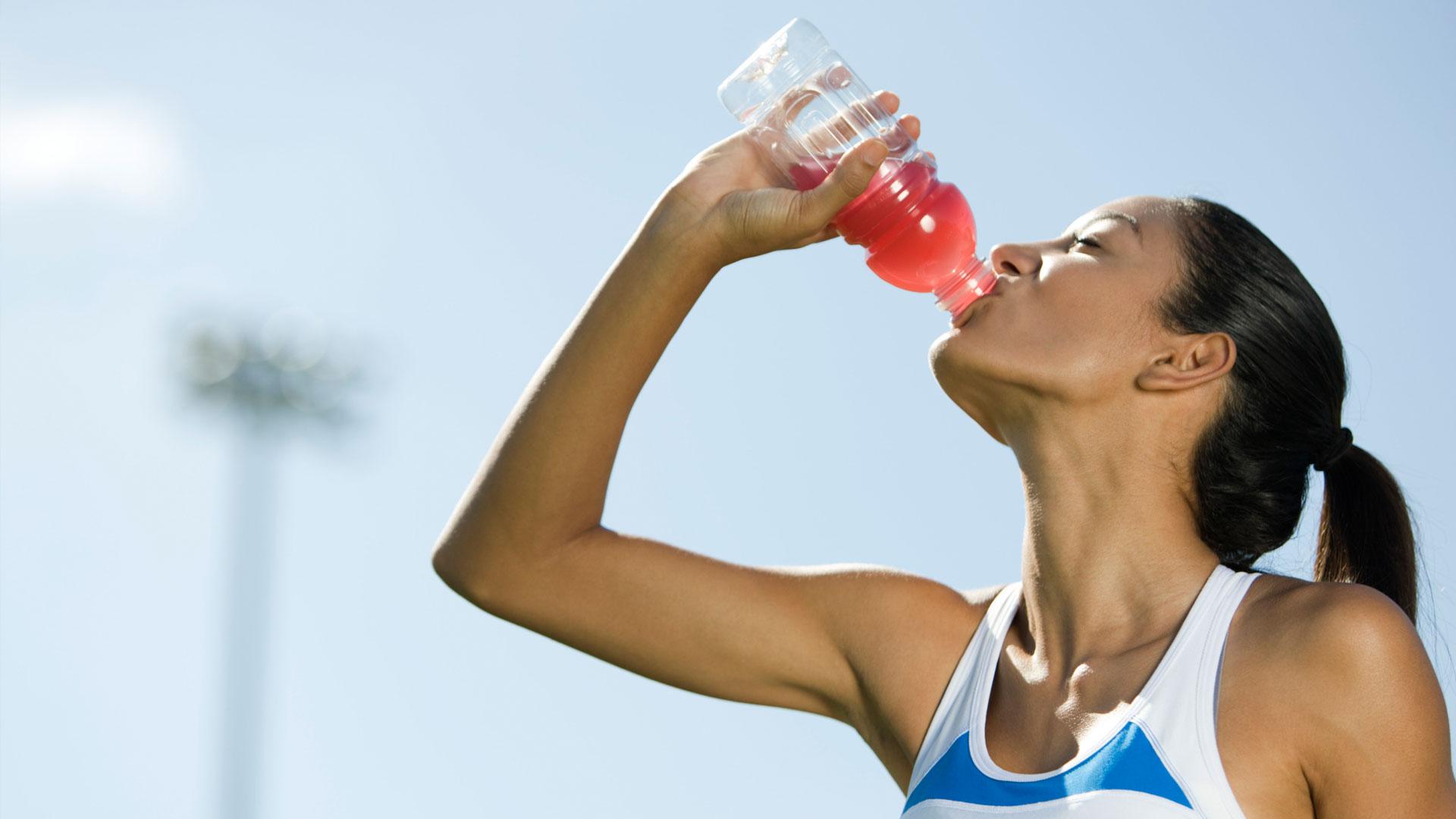 sportital hidratáció