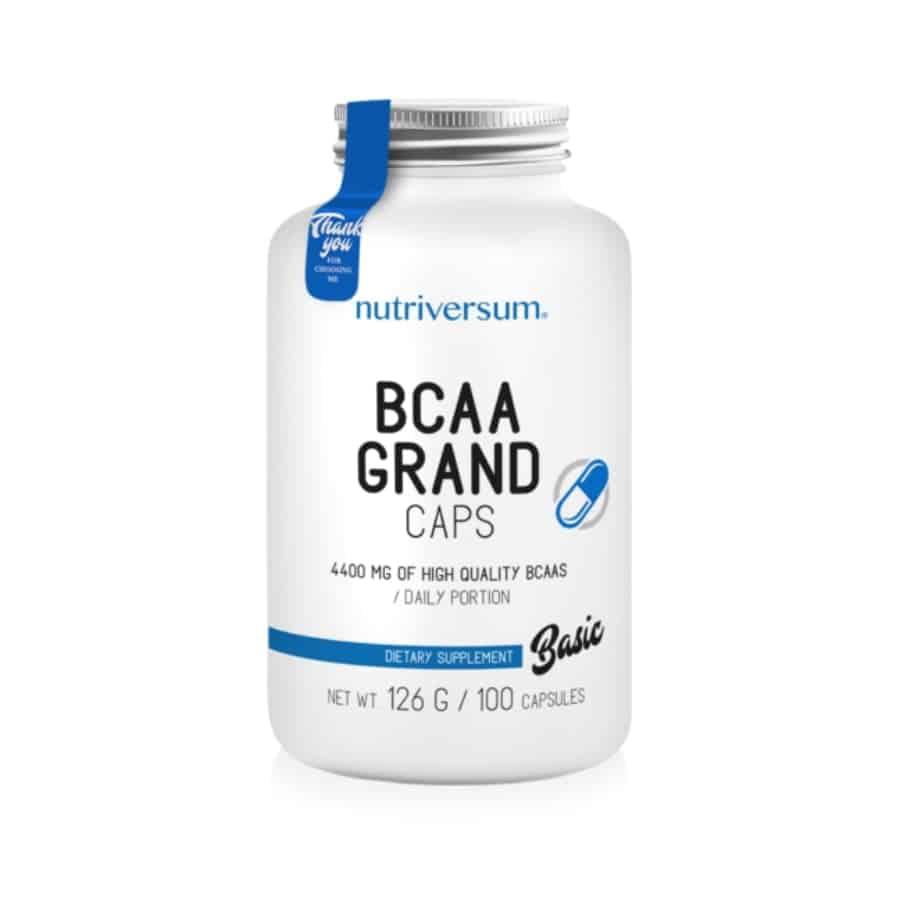 Nutriversum - BASIC - BCAA Grand caps - 100 kapszula