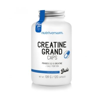 Nutriversum - BASIC - Creatine PRO Grand Caps