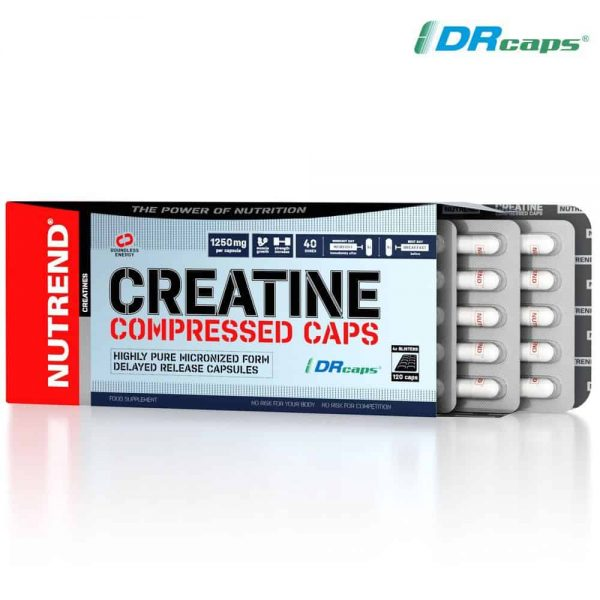 Nutrend Creatine Compressed Caps