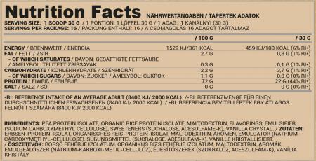 PEAandRICE_vegan_500g_vanilla_nutrition_facts