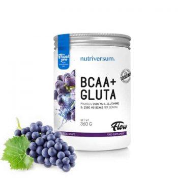 Nutriversum - FLOW - BCAA+GLUTA bcaa+glutamin