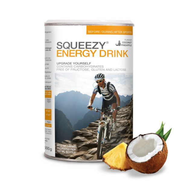 SQUEEZY ENERGY DRINK 500 g kókusz ananász