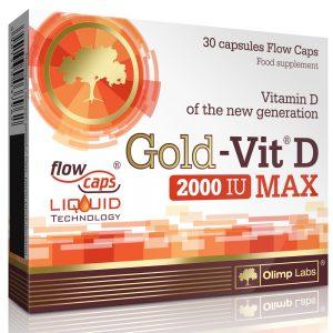 OLIMP LABS GOLD VIT™ D MAX 2000 IU - 30 KAPSZULA