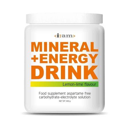 i:am miner + energy drink enduraid sportital