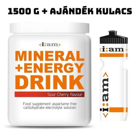 mineral e drink + kulacs