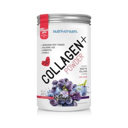nutriversum wshape collagen por kékszőlő