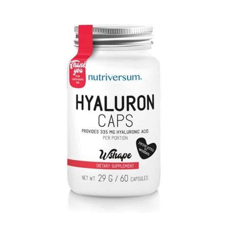 nutriversum wshape hyaluron hialuronsav kapszula