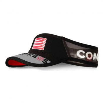 Compressport Visor Ultralight fekete