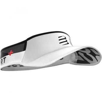 compressport visor ultralight fehér_2