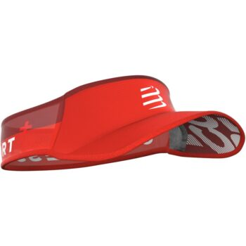 compressport visor ultralight red
