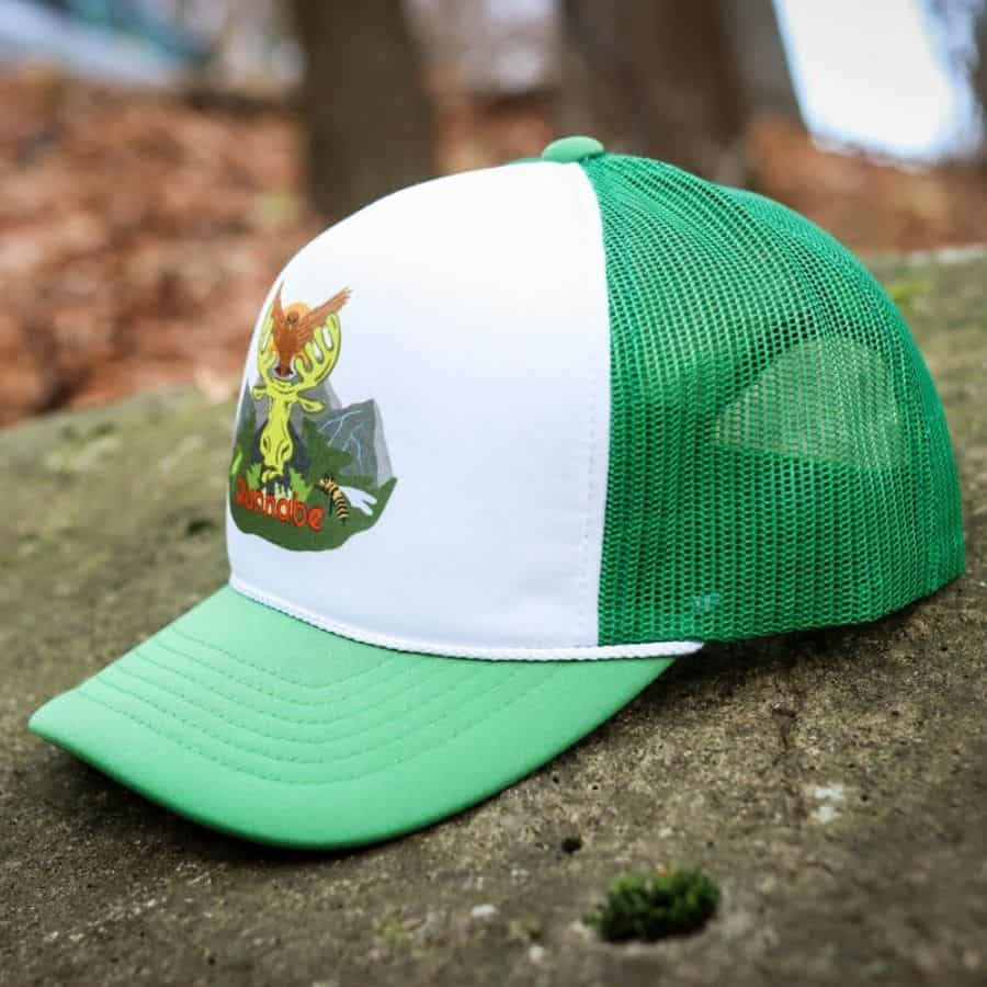 Runnabe NATURE FOAM TRUCKER green