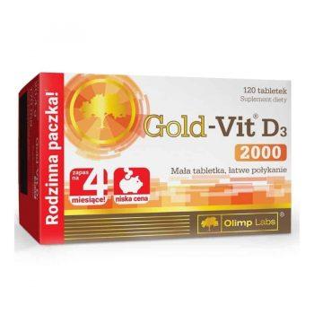 Olimp Gold-Vit D3 2000 - 120 tabletta_
