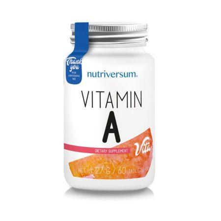 a vitamin tabeltta